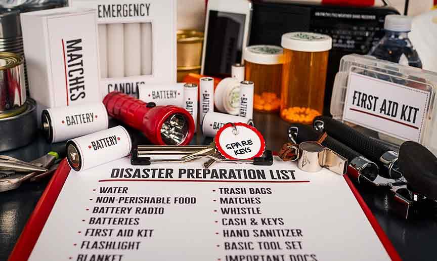 Weather Disaster & Emergency Preparedness Plan