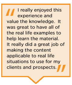 Student reviews of the Group Benefits Disability Specialist Program.