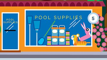 Pool & Spa Infographic