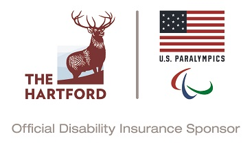 The Hartford & U.S. Paralympics logo