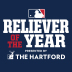 Reliever of the Year logo