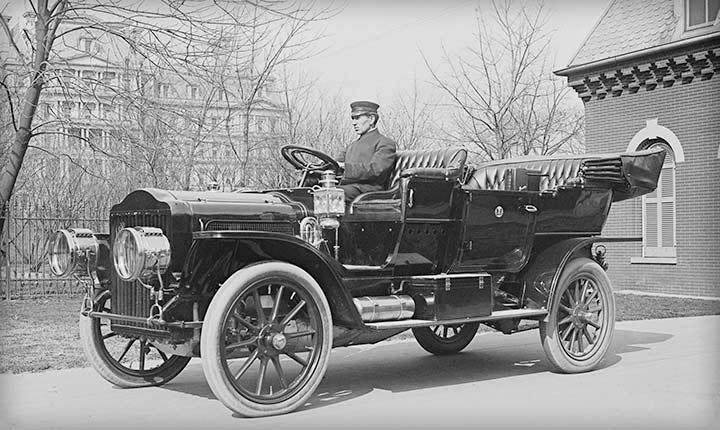 Early 20th Century Car