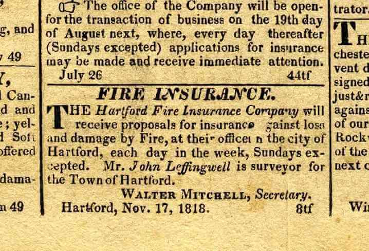 1819 advertisement