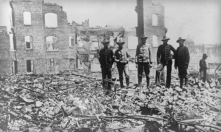 1906 San Francisco earthquake & fire