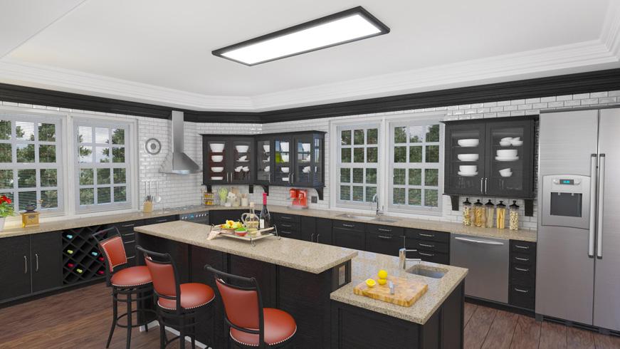 kitchen lighting traditional