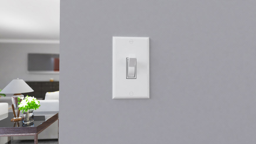 light switch traditional