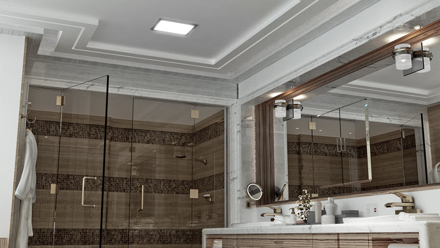 bathroom lighting traditional
