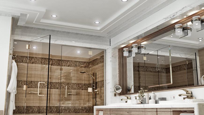 bathroom lighting universal