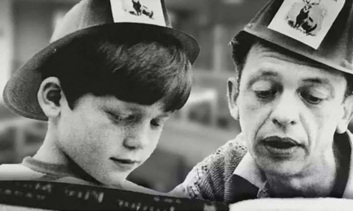 Ron Howard & Don Knotts