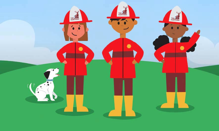 The Hartford's Junior Fire Marshal Program